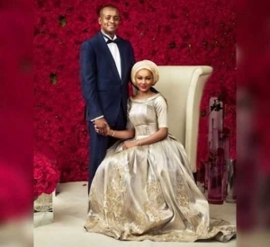 Zahra Buhari & Ahmed Indimi's Official Pre-wedding Photo